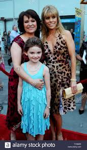 "Adriana Barraza, Morgan Lily and Cheryl Hines (L-R), cast members in the  dramatic comedy motion picture ""Henry Poole Is Here"", attend the premiere  of the film at the Arclight Cinerama Dome in"