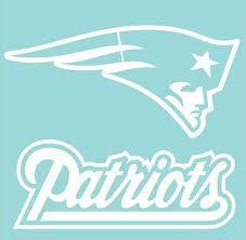 Amazon Com New England Patriots 18 X 18 Team Logo Self Adhesive Diecut Decal Sports Related Merchandise Clothing