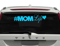 Mom Life Car Decal Mom Life Decal For Women Decal For Dad Etsy
