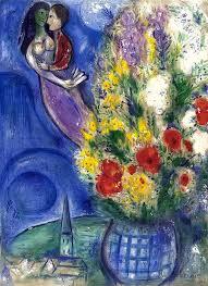 RestaurArs - Marc Chagall, coppia di amanti e fiori, 1949 | Facebook