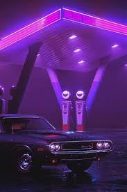 dodge charger 1970 car neon gas
