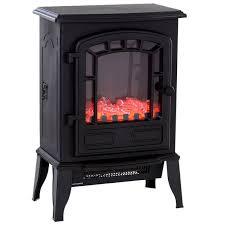 homcom freestanding electric fireplace
