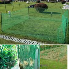 Poultry Animal Fence Netting Garden Fence Mesh Safety Poultry Farming And Pests Simple Breeding Fishing Net Fencing Trellis Gates Aliexpress