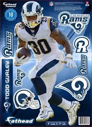Fathead Los Angeles Rams Todd Gurley Wall Decal Dick S Sporting Goods