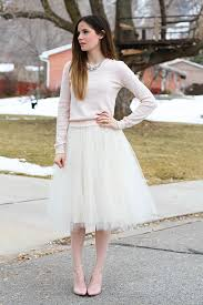 very simple tulle skirt tutorial