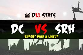 DC vs SRH Official Playing 11