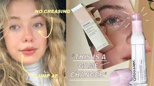new glossier bubblewrap eye lip cream
