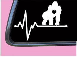 Harambe Gorilla Lifeline Tp 216 Vinyl 8 Decal Sticker Etsy