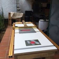 10 Incra Ts Ls Setup Ideas Woodworking Table Saw Table Saw Station
