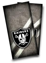 Oakland Raiders Cornhole Decal Custom Cornhole Llc