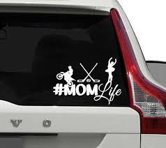 Mom Life Car Decal Momlife Car Sticker Window Sticker Car Decal For Moms Decals Stickers Automotive Fibsol Com