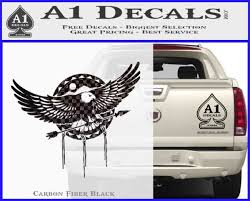 Eagle Native American Decal Sticker A1 Decals