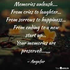 memories unleash from quotes writings by fardau mehphi