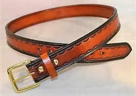 custom scalloped design belt gb 6