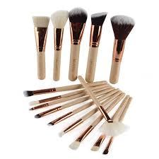 15pcs set makeup brush set