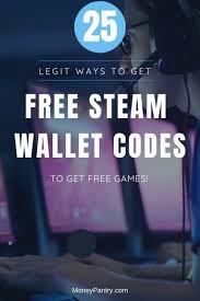 get free steam wallet codes