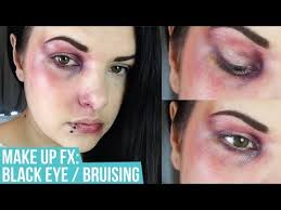 makeup sfx black eye bruising you