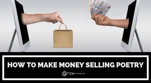 how to make money selling poetry tck