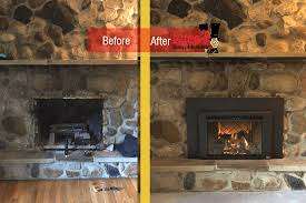 fireplace update before afters luce s