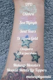 makeup monsters moonlit metals lip