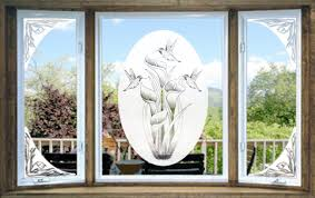 Vinyl Etchings Decorative Decals The Look Of Real Etched Glass For Less We Manufacture Vinyl Etchings Etched Glass Decals And Screen Art Magnets