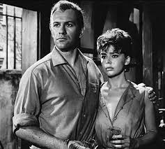 Edward Judd and Janet Munro in The Day the Earth Caught Fire (1961) |  Science fiction movie, Disaster film, Munro