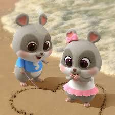 Tuyển tập 50 hình ảnh và hình nền cặp đôi chuột chibi cực dễ ...