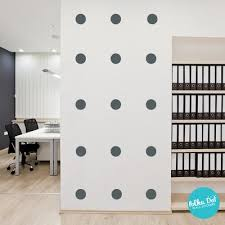 Black Polka Dot Wall Decals Peel And Stick Polka Dot Wall Stickers