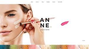 makeup free psd template hogash
