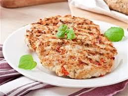Μπιφτέκια κοτόπουλο με γιαούρτι και σάλτσα ντομάτας | Dimitris ...