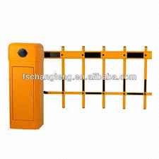 Barrier Gate With 2 Fence Arm Global Sources