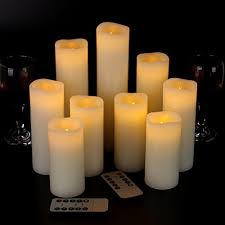 candle displays for fireplaces 12