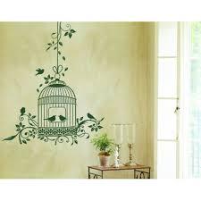 Romantic Bird Cage Wall Decal Wall Decal Sticker Mural Vinyl Art Home Decor 4757 Orange 38in X 47in Walmart Com Walmart Com