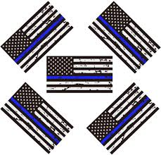 Reflective New Tattered Thin Blue Line Us Flag Decal Stickers For Cars Trucks Buy Reflective New Tattered Thin Blue Line Us Flag Decal Stickers For Cars Trucks American Usa Flag