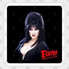 Home Garden Decor Decals Stickers Vinyl Art Elvira Cut Out Sticker Mistress Of The Dark Halloween Anios Am