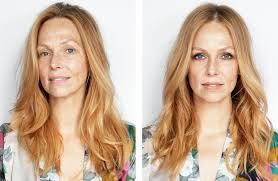 natural makeup andbloom
