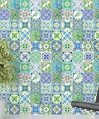 Walplus Turkish Blue Green Mosaic Tile Wall Decal Best Price And Reviews Zulily