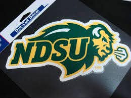 Ncaa North Dakota State Bison Mirror Window Decal Frosted Etched Glass X2 For Sale Online Ebay