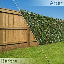 Balcony Privacy Protective Screens Garden Outdoors Christow Artificial Ivy Leaf Hedge Screening H1m X W2m 3ft 3 X 6ft 5 Outdoor Garden Privacy Screen Wall Fence Panel Expanding Willow Trellis