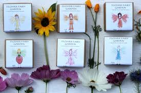 6 flower fairy birthday party favors