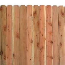 54 97 6 Ft X 8 Ft Redwood Con Common 6 In Dog Eared Fence Panel 07635 At The Home Depot Dog Ear Fence Fence Panels Wood Fence