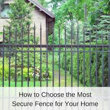 How To Choose The Most Secure Fence For Your Home America Fence