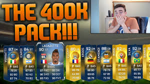 FIFA 15 - THE 400K PACK!!! INSANE TOTS LIGUE 1 & SERIE A PACK ...