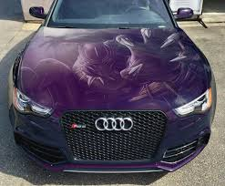 Vinyl Car Hood Wrap Full Color Graphics Decal Black Panther Etsy
