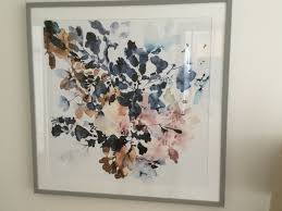 framed print indigo rock 17 in