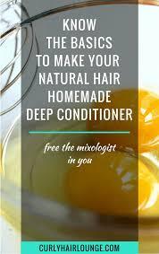 natural hair homemade deep