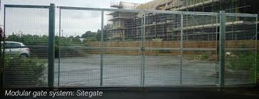 International Perimeter Security Modular Gate Fencing Systems