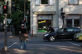 Googles Street View Auto Fotografiert Freiburg Freiburg Fudder De