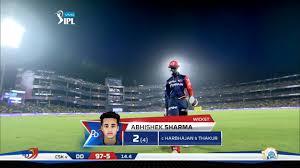 M52: DD vs CSK – Abhishek Sharma Wicket