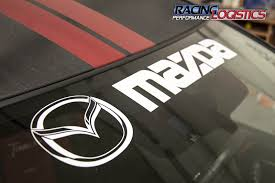 Windshield Mazda Mps Decals Stickers Vinyl Rx 7 Rx 8 Mx 5 Miata Cx5 Cx7 Xedos 6 Ebay